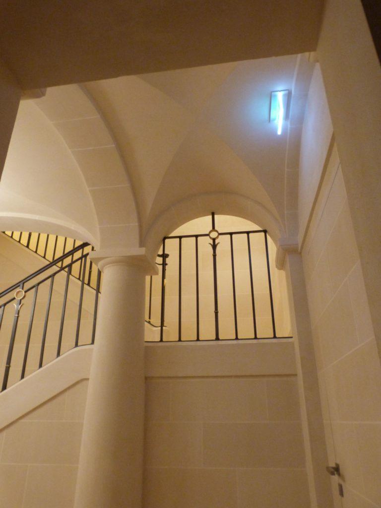Escalier Stuc Pierre