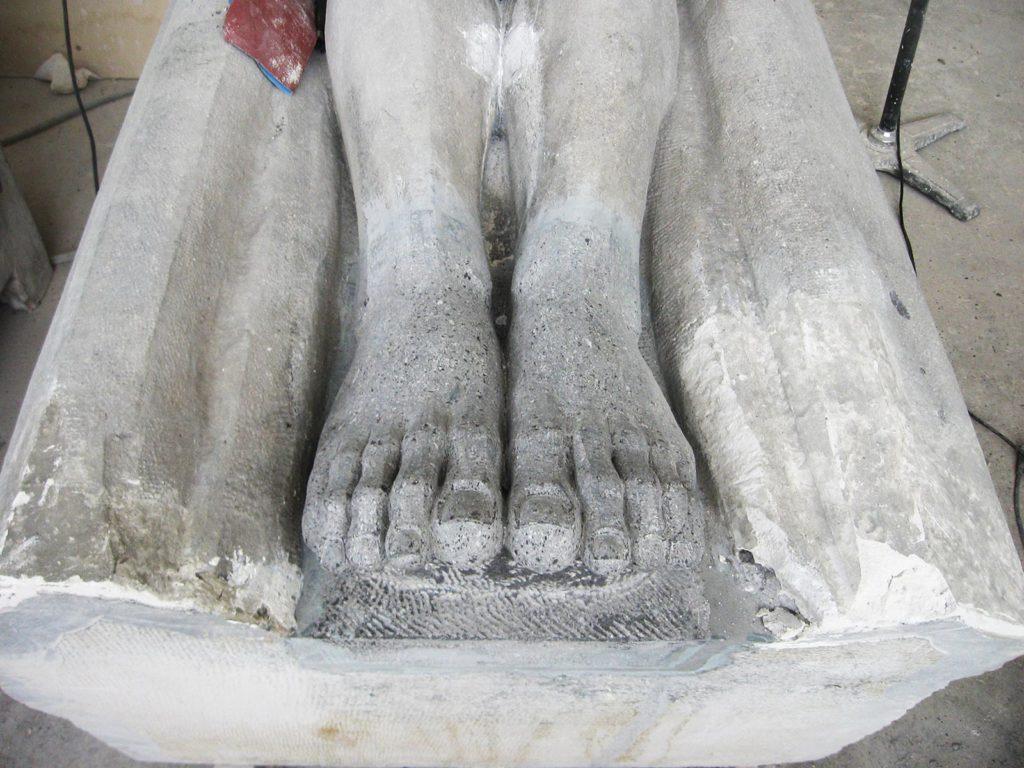 Sculpture sur bouchon