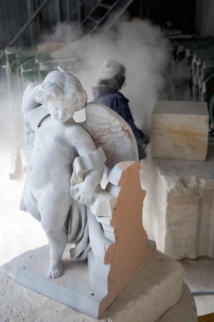 Groupe d'Anges Église Saint Augustin Paris