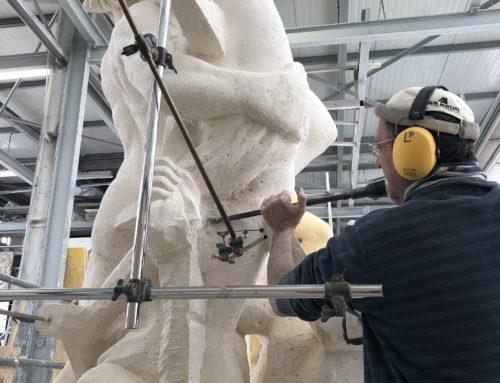 Proserpine – Taille directe (Sculpture en cours de finalisation)