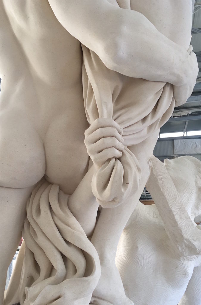 Statue-de-Proserpine-détails